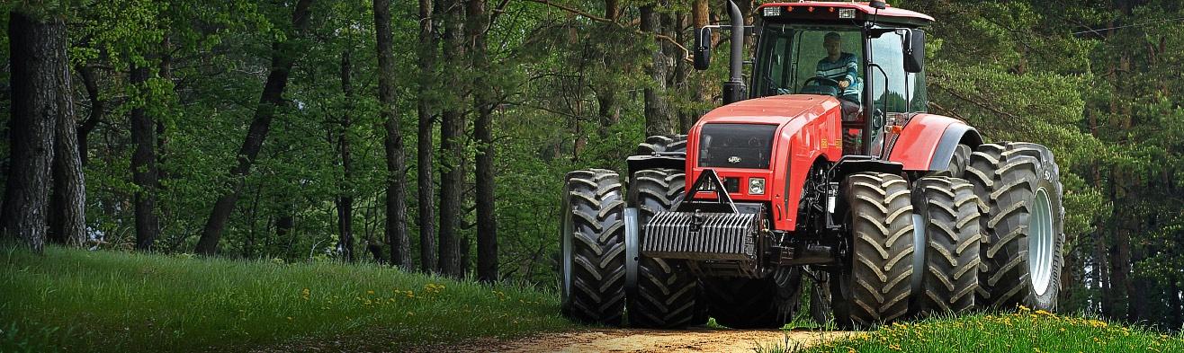 tracteur forestier belarus